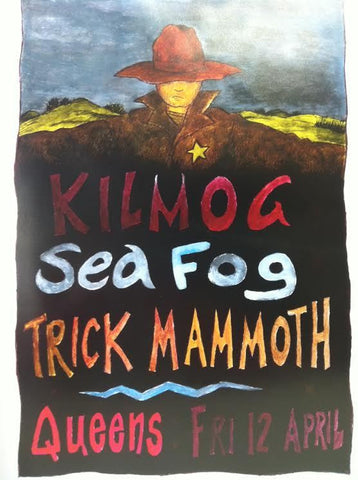 KILMOG SEA FOG TRICK MAMMOTH A3 POSTER *NEW*