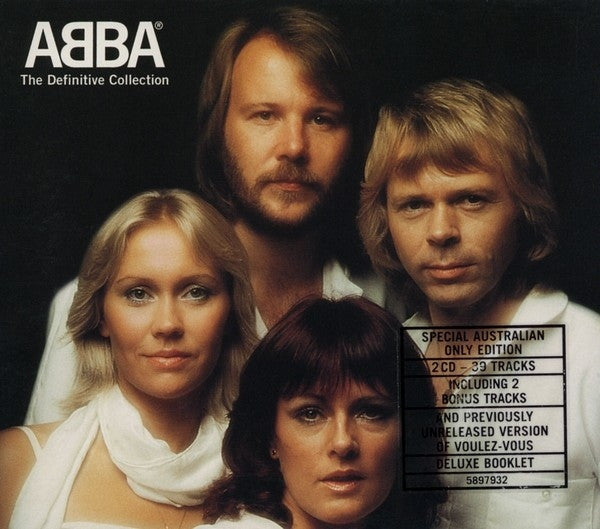 ABBA-THE DEFINITIVE COLLECTION 2CD VG