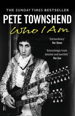 TOWNSHEND PETE-WHO I AM BOOK VG+