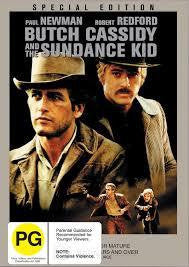 BUTCH CASSIDY AND THE SUNDANCE KID SPECIAL ED DVD VG+