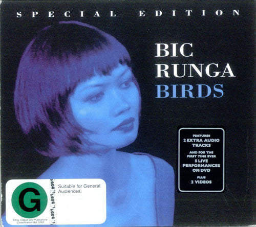 RUNGA BIC-BIRDS CD+DVD  VG