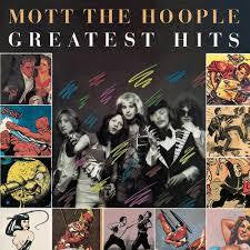 MOTT THE HOOPLE-GREATEST HITS VGPLUS COVER VGPLUS