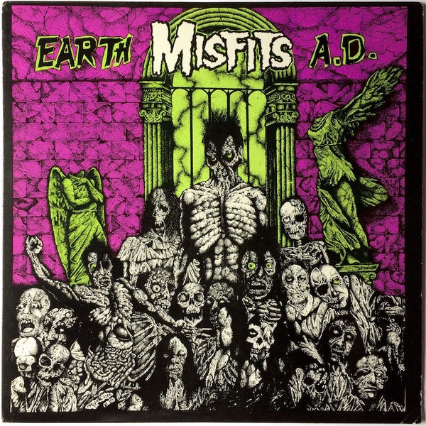 MISFITS THE-EARTH AD / WOLFSBLOOD LP *NEW*