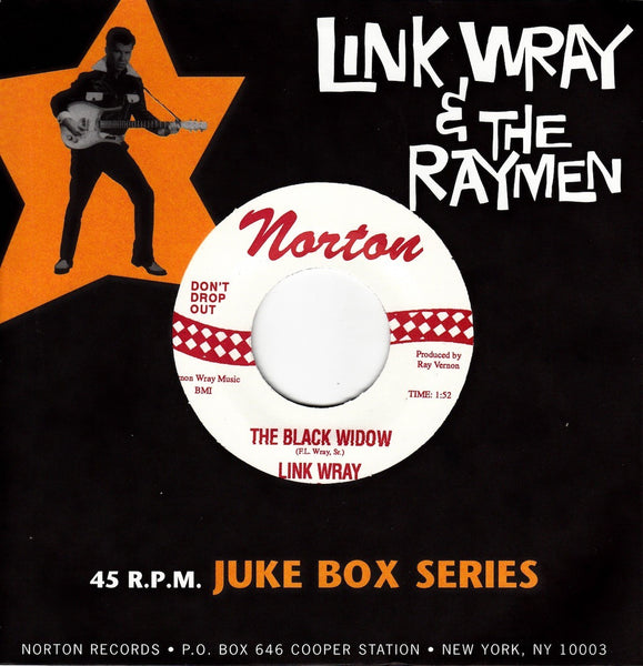 "WRAY LINK AND THE RAYMEN-THE BLACK WIDOW 7"" *NEW*"