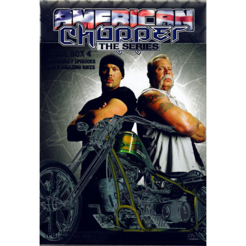 AMERICAN CHOPPER TOOL BOX 4-3DVD BOXSET M