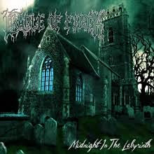 CRADLE OF FILTH-MIDNIGHT IN THE LABYRINTH 2LP *NEW*