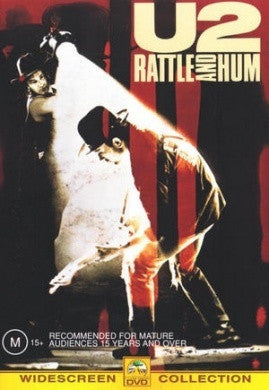 U2-RATTLE AND HUM DVD VG