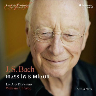 BACH-MASS IN B MINOR WILLIAM CHRISTIE  2CD *NEW*