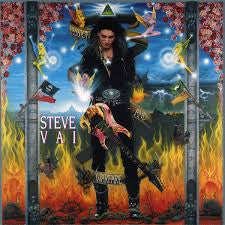VAI STEVE-PASSION & WARFARE LP VG COVER VG