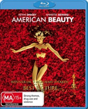 AMERICAN BEAUTY BLURAY VG+
