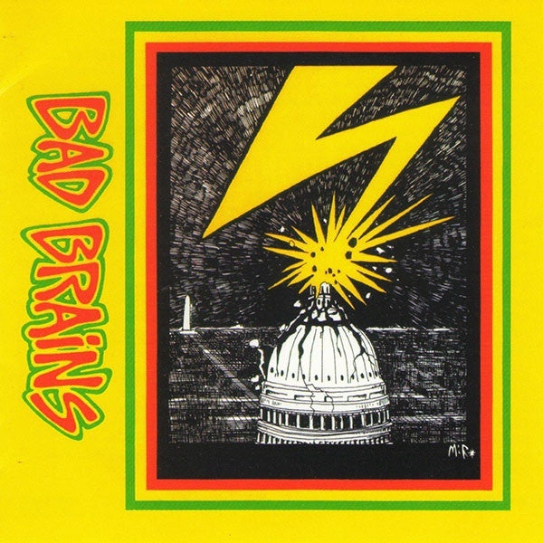 BAD BRAINS-BAD BRAINS CD VG