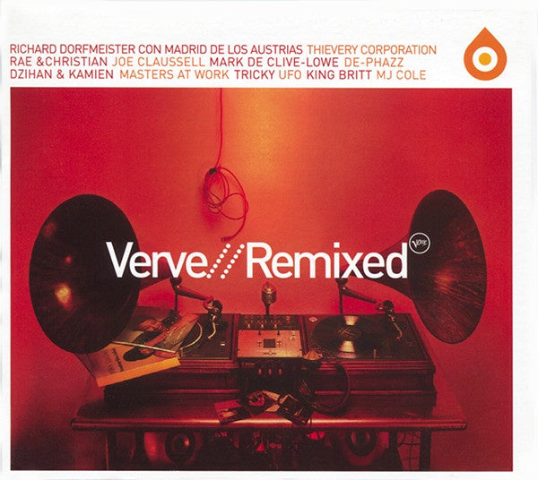 VERVE REMIXED-VARIOUS ARTISTS CD G