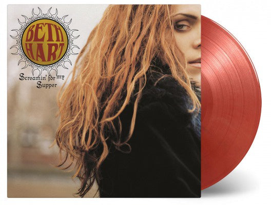 HART BETH-SCREAMIN' FOR MY SUPPER GOLD/ RED VINYL 2LP *NEW*