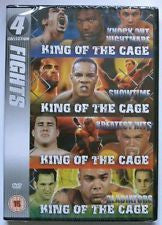 KING OF THE CAGE FIGHTS COLLECTION DVD VG