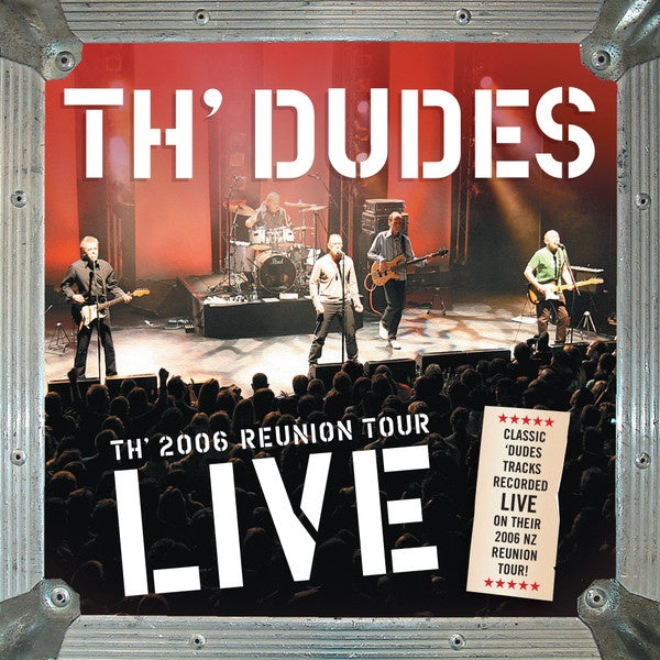 TH'DUDES-TH' 2006 REUNION TOUR LIVE CD VG