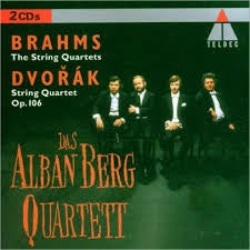 BRAHMS THE STRING QUARTETS-DVORAK STRING QUARTET  2CDVG