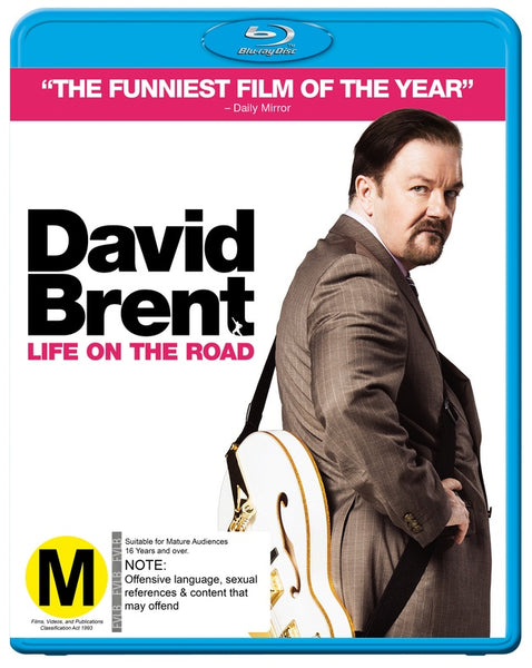DAVID BRENT LIFE ON THE ROAD BLURAY VG+