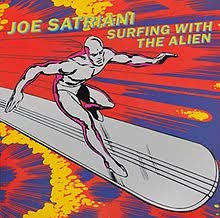 SATRIANI JOE-SURFING WITH THE ALIEN VG+ COVER VG+
