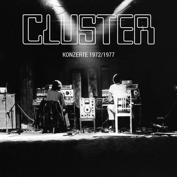 CLUSTER-KONZERTE 1972 / 1977 LP + CD *NEW*
