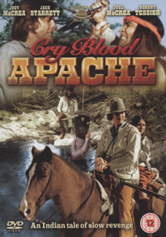 CRY BLOOD APACHE DVD VG