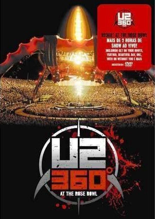 U2-360 AT THE ROSE BOWL DVD G