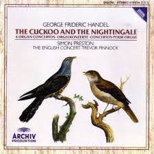 HANDEL-4 ORGAN CONCERTOS THE CUCKOO AND THE NIGHTINGALE CD VG