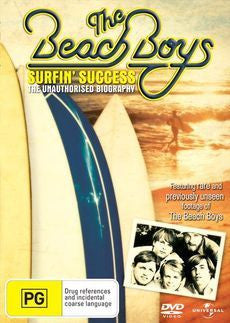 BEACH BOYS-SURFIN SUCCESS UNAUTHORISED BIOGRAPHY DVD VG