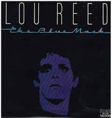 REED LOU-THE BLUE MASK VG+ COVER VG+