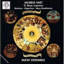 VAET JACOBUS-VOL II TE DEUM MOTETTEN MAGNIFICAT MESSE DUFAY ENSEMBLE CD VG