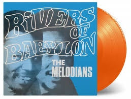 MELODIANS THE-RIVERS OF BABYLON ORANGE VINYL LP *NEW*