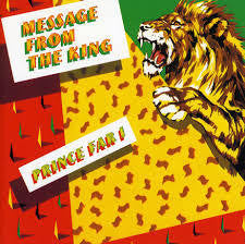 PRINCE FAR I-MESSAGE FROM THE KING CD VG
