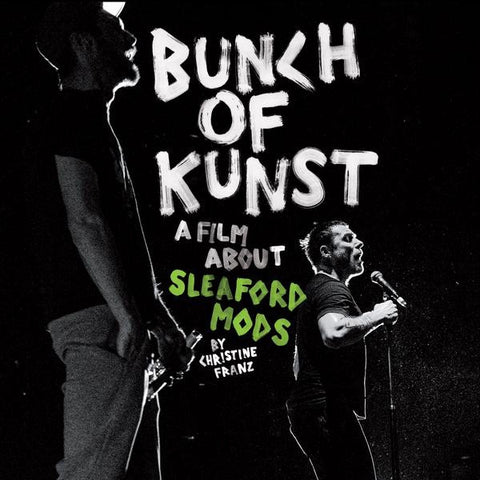 SLEAFORD MODS-BUNCH OF KUNST DVD + CD *NEW*