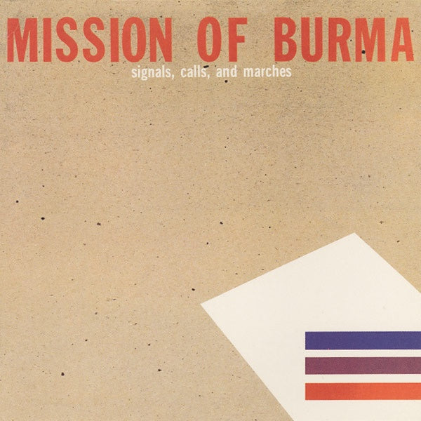 MISSION OF BURMA-SIGNALS, CALLS AND MARCHES CD VG