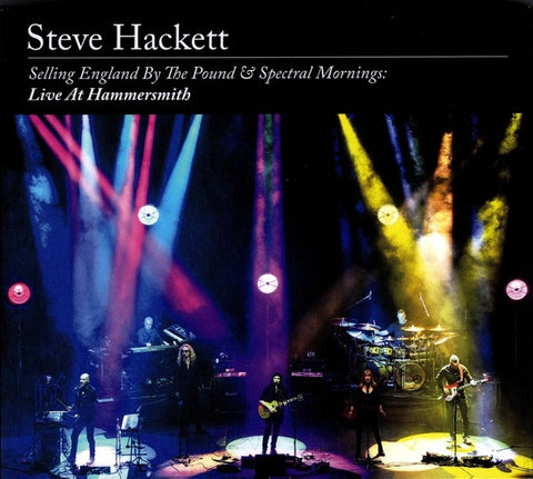 HACKETT STEVE-SELLING ENGLAND BY THE POUND & SPECTRAL MORNINGS: LIVBE AT HAMMERSMITH 2CD+BLURAY *NEW* *NEW*