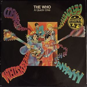 WHO THE-A QUICK ONE+SELL OUT 2LP EX COVER VG