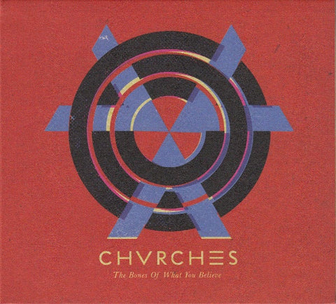 CHVRCHES-THE BONES OF WHAT YOU BELIEVE CD VG