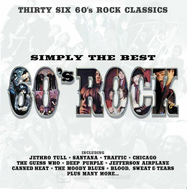 SIMPLY THE BEST 60S ROCK-VARIOUS ARTISTS 2CD *NEW*