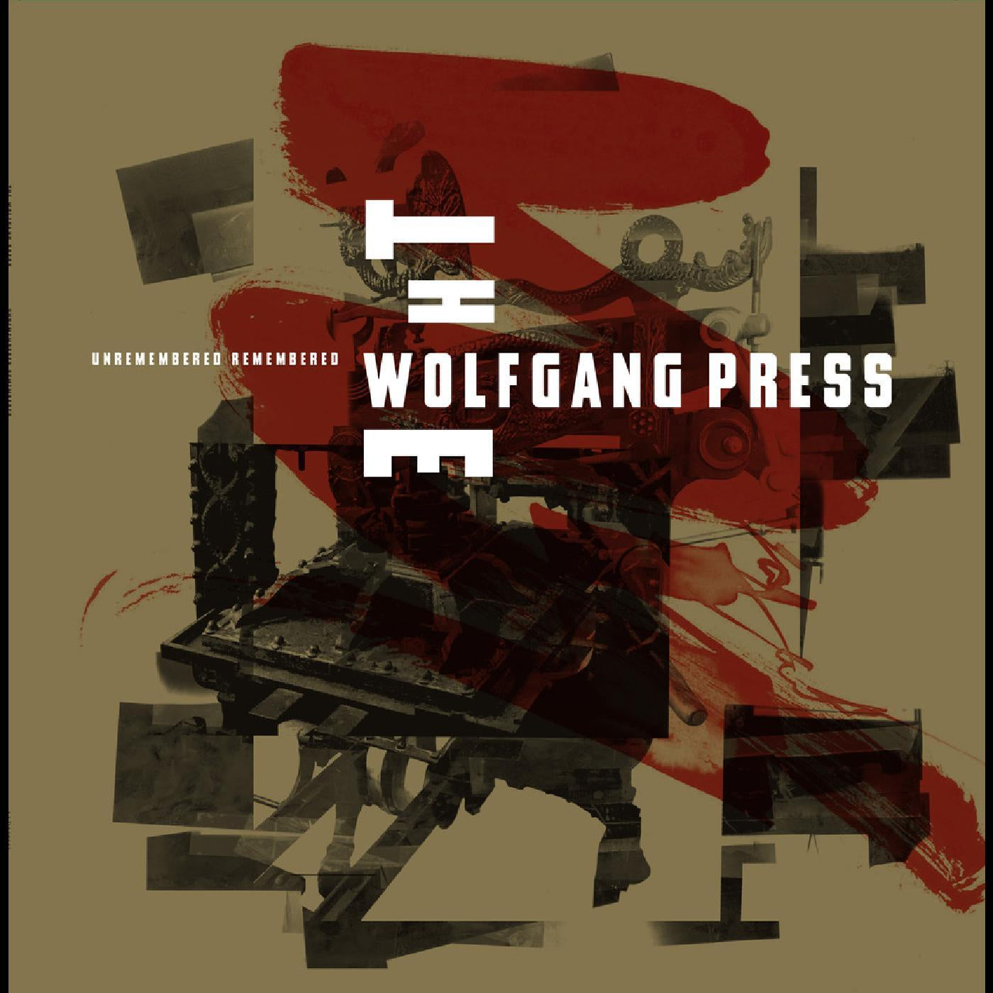 WOLFGANG PRESS THE-UNREMEMBERED REMEMBERED RED VINYL LP *NEW*