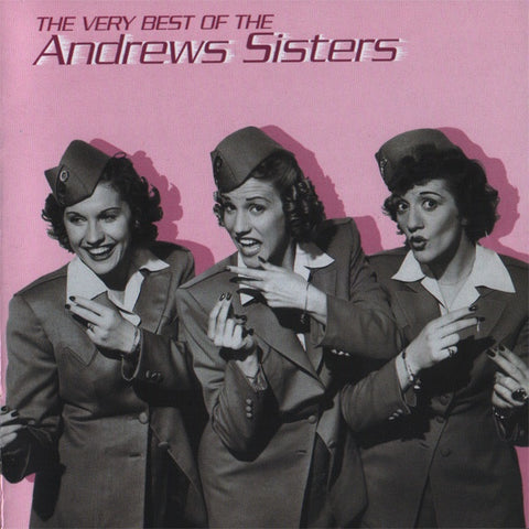 ANDREWS SISTERS THE-THE VERY BEST OF THE ANDREWS SISTERS CD VG