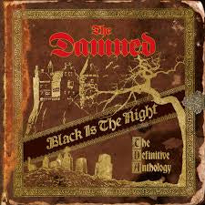 DAMNED THE-BLACK IS THE NIGHT GOLD VINYL 4LP *NEW*