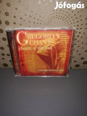 GREGORIAN CHANTS-CHANTS OF THE SOUL CD VG