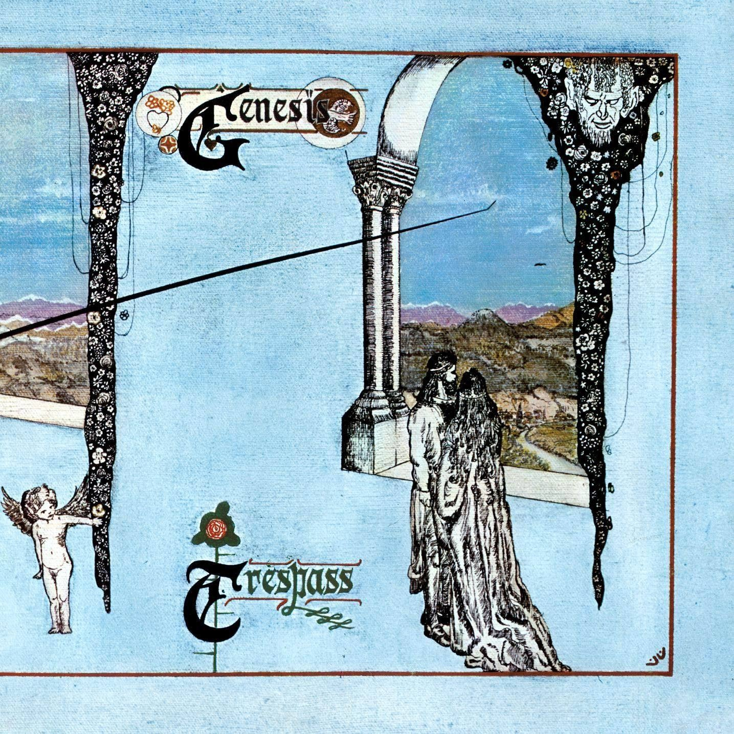 GENESIS-TRESPASS LP VG+ COVER VG+