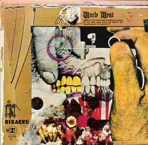 ZAPPA FRANK/ MOTHERS OF INVENTION-UNCLE MEAT 2LP EX COVER EX