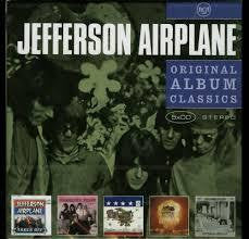 JEFFERSON AIRPLANE-ORIGINAL ALBUM CLASSICS 5CD *NEW*