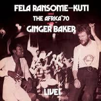 KUTI FELA AND THE AFRICA '70 WITH GINGER BAKER-LIVE! LP *NEW*