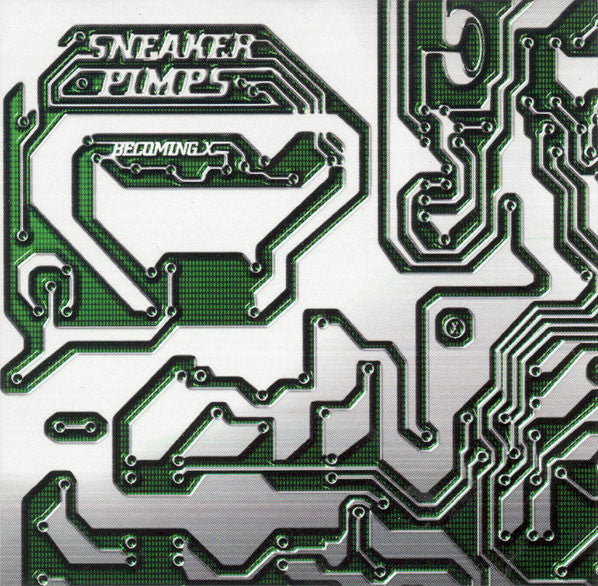 SNEAKER PIMPS-BECOMING X CD VG
