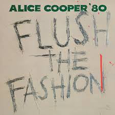 COOPER ALICE-FLUSH THE FASHION LP VG+ COVER VG