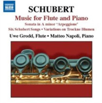 SCHUBERT-MUSIC FOR FLUTE & PIANO CD *NEW*