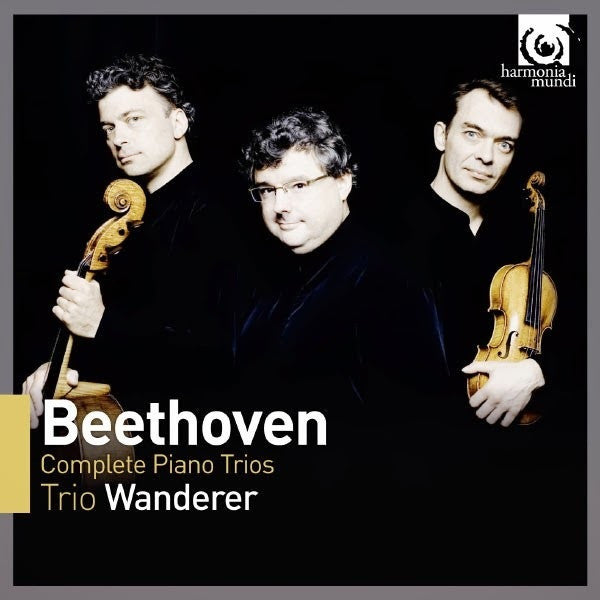 BEETHOVEN-COMPLETE PIANO TRIOS TRIO WANDERER 4CD *NEW*