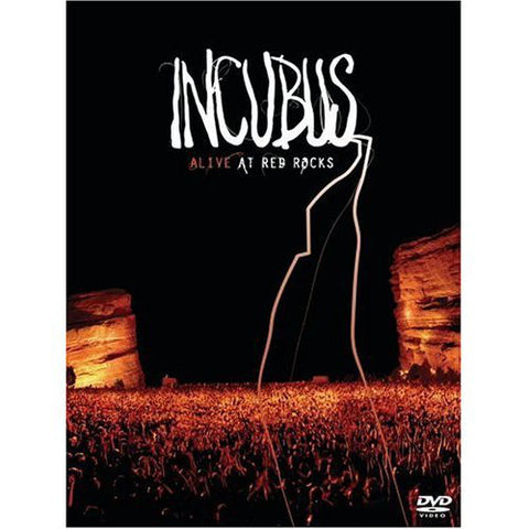 INCUBUS-ALIVE AT RED ROCKS CD+DVD VG+